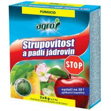 AGRO STOP strupovitost a padlí jádrovin 3x8g