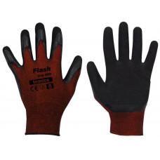 BRADAS rukavice FLASH GRIP latex 10