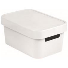 CURVER box úložný INFINITY 26,8x18,6x12,4cm s víkem, PH BÍ