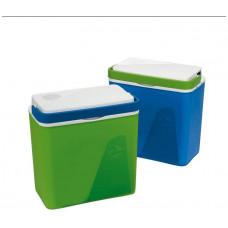 PLASTIME lednice KRIOS chladicí 23l  39x40x23cm, 2 víka (el.+ klasické), mix barev