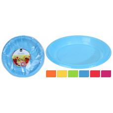 talíř 18cm PH mix barev (30ks) jednorázový
