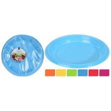 talíř 22cm PH mix barev (30ks) jednorázový