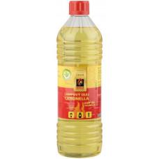 SOLO MATCHES & FLAMES olej lampový přírodní citronela 1l SOLO