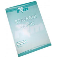 RVM deník stavební 53 listů samokopírovací