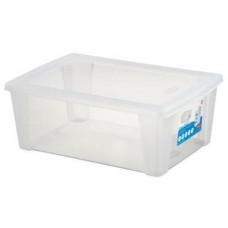 STEFANPLAST box úložný SCATOLA 10l, 36,5x25,5x14cm s víkem PH TRA