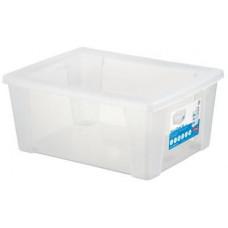STEFANPLAST box úložný SCATOLA 15l, 39,5x29x17cm s víkem PH TRA mix barev