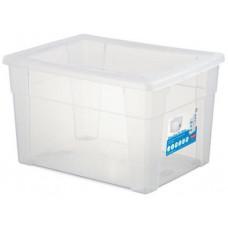 STEFANPLAST box úložný SCATOLA 20l, 40x30x24cm s víkem PH TRA