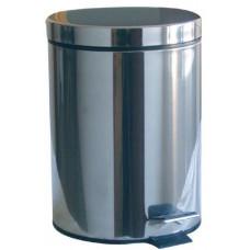 koš odpadkový nášlapný  3l kulatý nerez, s vložkou PH