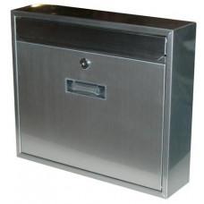 schránka poštovní RADIM V 360x310x90mm nerez