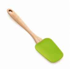 stěrka silikon 25,5cm dřev. rukojeť