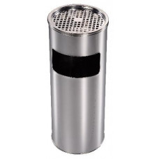 koš odpadkový s popelníkem pr.24cm v.59cm Zn