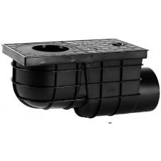 HACO lapač střešních vod  boční DN 110mm PH ČER