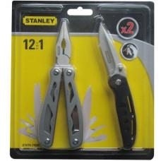 STANLEY kleště multifunkční 12v1+nůž STHTO-71028