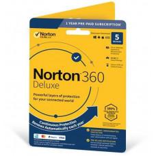 NortonLifeLock NORTON 360 DELUXE 25GB +VPN 1 uživatel pro 3 zařízení na 1rok ESD