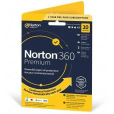 NortonLifeLock NORTON 360 PREMIUM 75GB +VPN 1 uživatel pro 10 zařízení na 1rok ESD