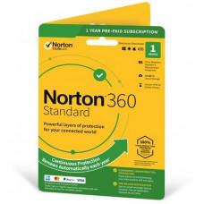 NortonLifeLock NORTON 360 STANDARD 10GB + VPN 1 uživatel pro 1 zařízení na 1rok ESD