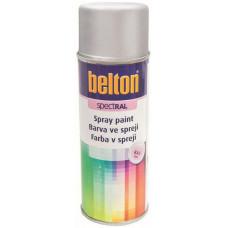 BELTON barva ve spreji BELTON RAL 9006, 400ml BÍ Al