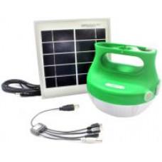 Schneider Electric Lampa přenosná bateriová se solárním panelem Mobiy
