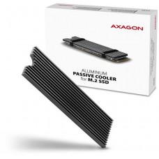 AXAGO  CLR-M2L, hliníkový pasivní chladič pro M.2 2280 SSD