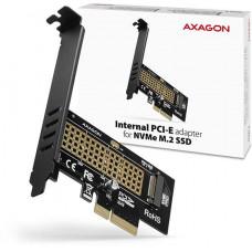 AXAGO  PCEM2-N, PCIe x4 - M.2 NVMe M-key slot adaptér