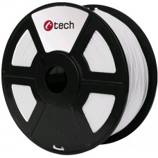 C-TECH Tisková struna (filament) C-TECH, PLA, 1,75mm, 1kg, bílá