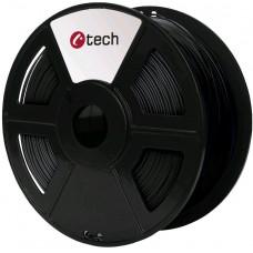 C-TECH Tisková struna (filament) C-TECH, PLA, 1,75mm, 1kg, černá