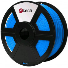 C-TECH Tisková struna (filament) C-TECH, PLA, 1,75mm, 1kg, modrá