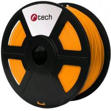 C-TECH Tisková struna (filament) C-TECH, PLA, 1,75mm, 1kg, oranžová