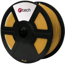 C-TECH Tisková struna (filament) C-TECH, PLA, 1,75mm, 1kg, zlatá