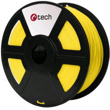C-TECH Tisková struna (filament) C-TECH, PLA, 1,75mm, 1kg, žlutá