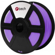 C-TECH Tisková struna (filament) C-TECH, PLA, 1,75mm, 1kg, fialová