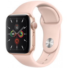 APPLE Watch S5, 40mm, Gold/ Pink Sand Sport Band