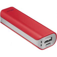 TRUST Primo PowerBank 2200 - red