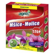 AGRO STOP mšice-molice 2x1,8g