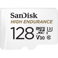SanDisk High Endurance microSDXC 128GB + adaptér