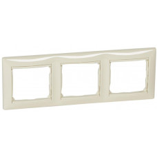 LEGRAND Valena rámeček 3-násobný Béžová