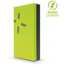 FIXED Powerbanka FIXED Zen Power, 12 000 mAh, limetková