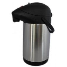 termoska s pumpičkou 3,5l nerez+PH