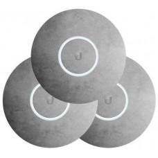 UBIQUITI UBNT kryt pro UAP-nanoHD, betonový motiv, 3 kusy