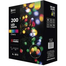 EMOS Vánoční řetěz 200LED-kuličky,20m,MULTICOLOR, 8modů