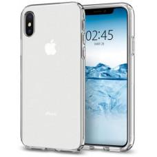 SPIGEN Kryt Spigen Liquid Crystal pro Apple iPhone XS/X