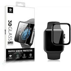 Mocolo 3D Tvrzené Sklo Black pro Apple iWatch 1,2,3,4 42mm