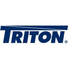 Triton Dveře 42U sklo,š: 600mm,vč.kování RAL7035