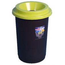koš na tříděný odpad 50l kulatý PH mix barev