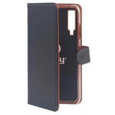CELLY Pouzdro typu kniha Wallet Galaxy A7 (2018), černé