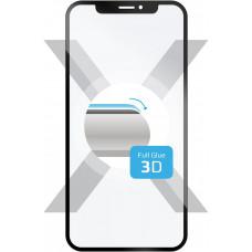 FIXED 3D sklo FIXED Galaxy A40,plné lepení,černé