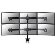 NEWSTAR Neomounts by Newstar FPMA-D700D6 - Montážní sada - pro 6 LCD displejů (full-motion) - černá