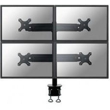 NEWSTAR Neomounts by Newstar FPMA-D700D4 - Montážní sada - pro 4 LCD displeje (full-motion) - černá