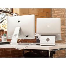 NEWSTAR Neomounts by Newstar NSLS050 - Stojan - pro notebook (počítač) - leštěný hliník - stříbrná
