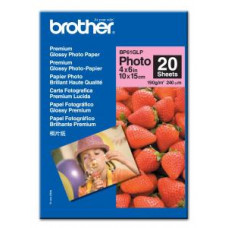BROTHER BP61GLP, 20 listů 10x15cm Glossy, 190g